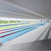 Oficialu: Nemuno saloje pradėtos vandens sporto centro statybos