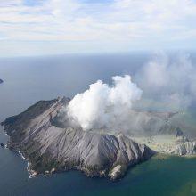 Ugnikalnio išsiveržimas Naujojoje Zelandijoje pareikalavo penkių gyvybių