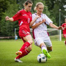 Baltijos taurėje moterų futbolo rinktinė – antra