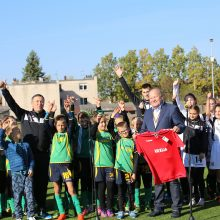 Šaknis pakaunėje įleidęs ukrainietis išpopuliarino futbolą