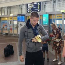 Parskridęs D. Rapšys: M. Kalnietis klausė, ar lagamine nėra viršsvorio su medaliais
