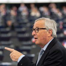 "J. C. Junckeris: ""Brexit"" įvyks"