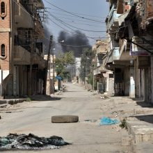 Turkija paskelbė užėmusi vieną Sirijos miestą