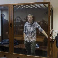CNN: JAV ketina paskelbti Rusijai sankcijų dėl A. Navalno įkalinimo