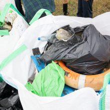 Talkos nacionaliniuose parkuose: surinkta apie 45 tonos šiukšlių – dvigubai daugiau nei pernai