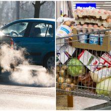 Ant Seimo komitetų stalo – vėl automobilių ir prekybos mokesčiai