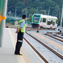 """Dėl """"Rail Baltica"""" statybos nuo Palemono iki Kauno bus uždarytas traukinių eismas"""