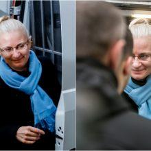 Teismui galvojant, ką daryti, N. Venckienė vėl nakvos tardymo izoliatoriuje