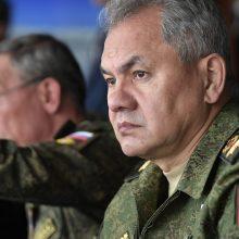 Rusijos gynybos ministras pripažino jaučiantis didelę nostalgiją Sovietų Sąjungai