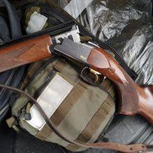 Panevėžio rajone tvarkant sodybą rastas šautuvas