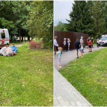 Draugystės parke vyrui prireikė skubios medikų pagalbos