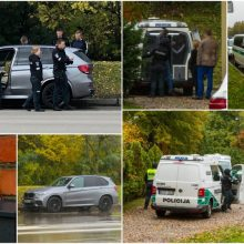 Policijos operacija Jonavos gatvėje: paaiškėjo, kad BMW tikrai buvo narkotikų