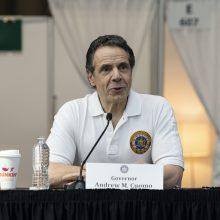 Niujorko valstijoje dėl koronaviruso epidemijos atidedami prezidento pirminiai rinkimai