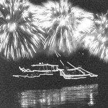 Kauno gimtadienis švęstas ir ant vandens