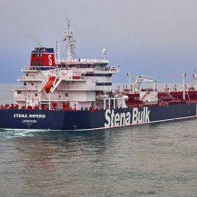 Iranas Persijos įlankoje sulaikė Didžiosios Britanijos tanklaivį