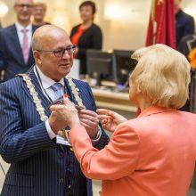 Inauguruotas Kauno meras V. Matijošaitis: šiandien pradedame tikrąją sėkmės istoriją