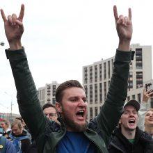 Trys masinių protestų ir areštų Maskvoje savaitės: kas iš tiesų ten vyksta?