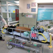 Koronavirusas Rusijoje ir Ukrainoje: kiek naujų atvejų, mirčių?