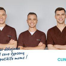 Dešimtmetį švenčianti CLINIC | DPC dovanos šypsenas