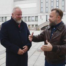 Kaune apsilankę M. Starkus ir V. Radzevičius: šis miestas tikrai turi, ką pasiūlyti