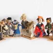 Parodoje – etnografinius regionus atspindinčios lėlės