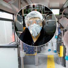 Incidento autobuse atomazga: per pilnatį siautėjusiam antivakseriui surašytas ne vienas protokolas
