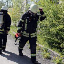 Kaune į tarnybą vykstantis ugniagesys partrenkė moterį ir mažametę