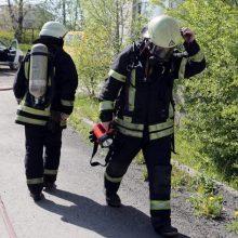 Gaisras Varėnos rajone nusinešė žmogaus gyvybę