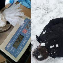 Į Kauno kriminalistų rankas pateko įtariami amfetamino platintojai