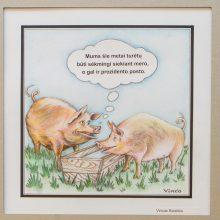 Praūžę rinkimai – Lietuvos karikatūristų akimis