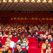"""Kauniečiams pristatytas D. Ulvydo filmas """"Valstybės paslaptis"""""""