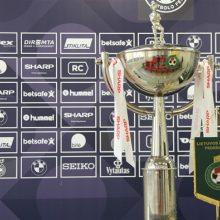 Baigėsi LFF taurės I ir II etapo varžybos