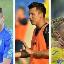 Į Lietuvą atvyks Ukrainos futbolo žvaigždžių trio