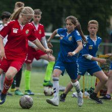 Globojamus vaikus suvienijo futbolas ir pramogos