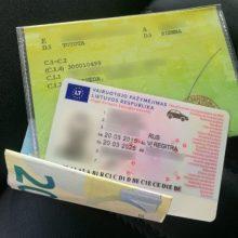 Vietoj 15 eurų baudos – ikiteisminis tyrimas