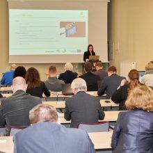 Klaipėdos universitete aptarti tarptautinio projekto pasiekimai