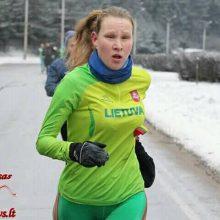 Lietuvai pirmą bilietą į Tokiją iškovojo maratonininkė
