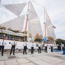 """""""Meridianas"""" pasipuoš Europos jūrinio paveldo ženklu"""