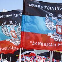 Donbaso taisyklės: supaprastinta tvarka rusišką pasą galės gauti 3 mln. ukrainiečių