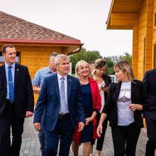 Klaipėdos rajone lankėsi Seimo pirmininkas