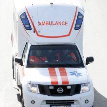 Šakių rajone susidūrus automobiliams, yra nukentėjusių