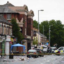 Mančesteryje per šaudymą buvo sužeisti 10 žmonių