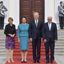 G. Nausėda sulaukė Vokietijos vadovų patikinimų, kad sankcijos Rusijai tęsis