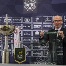 """LFF taurės burtai suvedė Vilniaus """"Žalgirį"""" ir Klaipėdos """"Atlantą"""""""