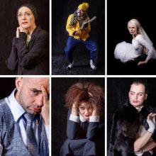 Teatro personažai pagal fotografą A. Ostrianicą