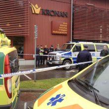 Švedijoje – mirtina kardu ginkluoto užpuoliko ataka
