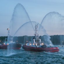 Uostamiestyje – jubiliejinis Klaipėdos laivų paradas