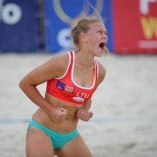 Paplūdimio tinklininkai kovos dėl kelialapių į Europos studentų žaidynes