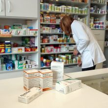 Vyriausybė sieks sumažinti valstybės išlaidas kompensuojamiems vaistams