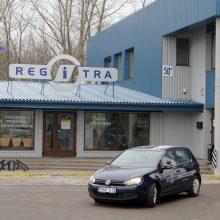 """""""Regitra"""" statybų projektams išleido dešimtis tūkstančių eurų, bet nieko nestatys"""